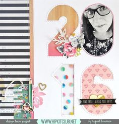 #papercrafting #scrapbook #layout by Designer @raquelp