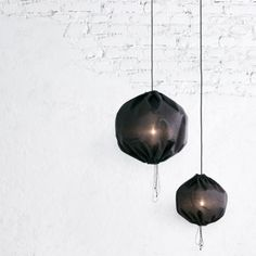 The Kuu lamp is a beautiful round pendant lamp, with a lamp screen made of fabric which gives it a soft look. Thanks to its minimalistic design it can be combined with any setting. Pendant Lamp, Pendant Lighting, Round Pendant, Black Pendant Light, Black Pendants, Scandinavian Living, Black Lamps, Nordic Design, House Design