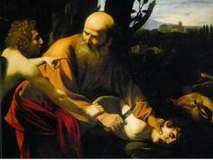 Caravaggio, El sacrificio de Isaac, 1635 (Cap 11/81)