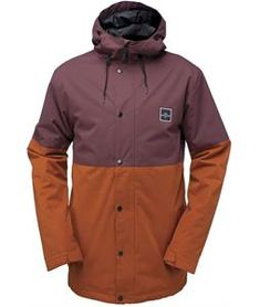 With its streetwise style and solid weather protection, the Ride Hawthorne Snowboard Jacket for men has the features and comfort you need to show everybody how it's done from the summit to the street!Built from tough Strata HD 10 material treated with an Aquapel DWR finish for dependable waterproof coverage no matter how hard it rains or snows, the Hawthorne also packs plenty of Clomax insulation to ward off the chill on those cold rides up the lift. A drawcord at the hem lets you adju...