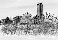 Title  Winter Farm Scene   Artist  Garvin Hunter   Medium  Photograph - Photograph
