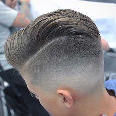 Mens Short Faded Haircut