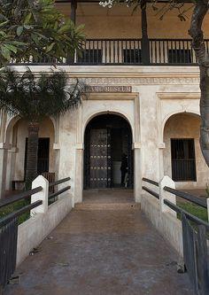 Swahili Architecture ~ Entrance Door Of The Swahili Museum, Lamu, Kenya