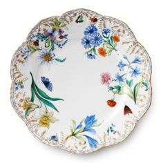 Traditional Dinnerware, Scully And Scully, Fine Linens, Plates And Bowls, China Patterns, Teller, Fine China, Dinner Plates, Decorative Items