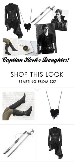 """""""Captain Hook's Daughter"""" by kayla-iz-here on Polyvore featuring Alex and Chloe, Haider Ackermann and Once Upon a Time"""