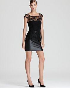 Bailey 44 Peplum Dress - Curfew Lace - Dresses - New Arrivals - Boutiques - Women's - Bloomingdale's