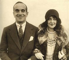 Al Jolson and Ruby Keeler. Ruby was his 3rd wife.