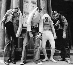 """nostalgia-gallery: """" John Cleese, Michael Palin, Terry Gilliam and Terry Jones for the TV Series """"Monty Python's Flying Circus"""" """" Monty Python, Old Pictures, Funny Pictures, Terry Jones, Terry Gilliam, Michael Palin, British Comedy, British Humor, Robin Williams"""