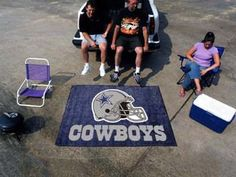 "NFL - Dallas Cowboys Tailgater Mat 59.5"""" X 71"""""
