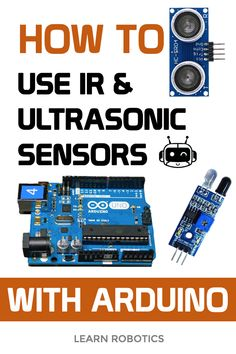 IR & Ultrasonic Sensor Tutorial Learn how to use IR and Ultrasonic Sensors with Arduino Uno. Complete wiring diagrams and code samples to help you get them working in your next project. Cool Arduino Projects, Iot Projects, Computer Projects, Hobby Electronics, Electronics Projects, Arduino Programmer, Arrangements Funéraires, Arduino Beginner, Raspberry Projects