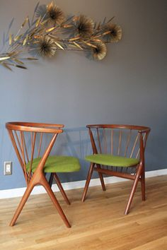 Danish Modern Side Chairs by Helge Sibast, 1953 More