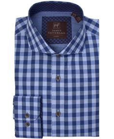 JTW6628-Blue from James Tattersall Clothing