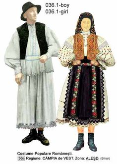 Alesd, Bihor, Crisana, Romanian folk costume Folk Embroidery, Embroidery Patterns, Machine Embroidery, Folk Costume, Costumes, Antique Quilts, Traditional Outfits, Fashion Art, Going Out