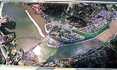 An aerial photo of the Three Gorges Dam project location Three Gorges Dam, Capricorn And Taurus, Earth Signs, Fire Signs, Level 3, Waterfalls, Constellations, Astrology, City Photo