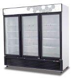 #3: Migali C-72FM 72 Cu/ft 3 Glass Door Merchandiser Freezer