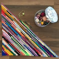 9 Tips for knitting – By Zazok Crochet Afghans, Tunisian Crochet, Crochet Blanket Patterns, Crochet Motif, Crochet Stitches, Free Crochet, Knitting Patterns, Knit Crochet, Crochet Crafts