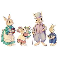 Bunny Paper Dolls | Gifts $15 - $25