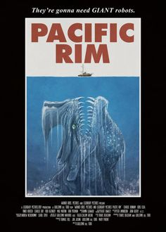 Pacific Rim/Jaws mashup by Matt Ferguson