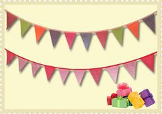Bunting Vouchers - ideal present with Christmas just around the corner! #bunting #presents #Christmas