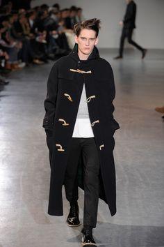 long duffle coat