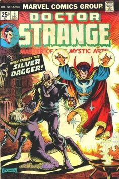 Doctor Strange this was the first Dr . strange comic I got!