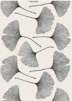 ginkgo tree tattoo texture pattern color pinterest aquarelles mon coeur et coquelicots. Black Bedroom Furniture Sets. Home Design Ideas