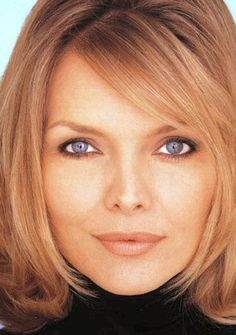 Michelle Pfeiffer -  Her hair color really makes her eyes stand out!