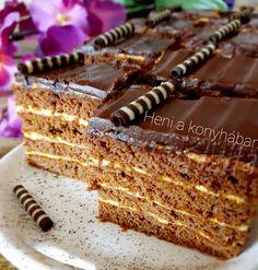 Sport szelet Izu, Tiramisu, Food And Drink, Cake, Ethnic Recipes, Minden, Facebook, Kuchen, Tiramisu Cake