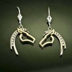 Horse Pendant - Silhouette Diamond - Horse Jewelry by Baytowne Jewelers, Destin FL