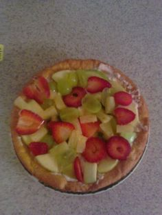 personal size fruit pizza
