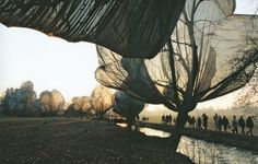 Christo and Jeanne-Claude, Wrapped Trees