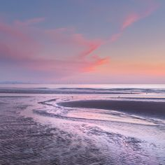 Sunset Formby Sands