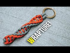 🧬Double DNA! WRAPTURE Paracord Keychain | TUTORIAL - YouTube Paracord Keychain, Diy Keychain, Paracord Bracelets, Keychains, Paracord Tutorial, Bracelet Tutorial, Paracord Projects, Paracord Ideas, Macrame Projects