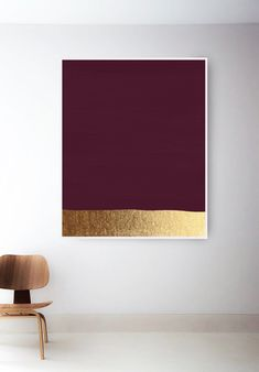 Minimal Gold Wall Art Violet Things violet color house outside Red Wall Art, Metal Tree Wall Art, Art Rose, Gold Walls, Art Mural, Art Art, Pink Art, Modern Art Prints, Gold Art