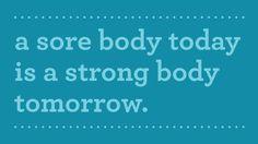 I'll be sore tommorrow:)