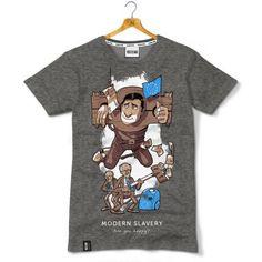 Modern Slavery - koszulka antyunijna