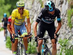 Froome launched his move with 2.5km to go, with only Contador and Richie Porte able to respond