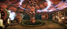 Secondlife Steampunk Tesla Lab SL