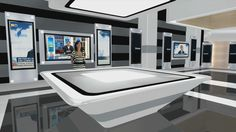 decorado plato de televisión - Buscar con Google