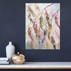 """""""Eucalyptus in Blush, an Autumn Tale"""" by Eve Sellars. Paintings for Sale. Crafts For Seniors, Senior Crafts, Autumn Tale, Buy Art Online, Paintings For Sale, Beautiful Artwork, Online Art Gallery, Impressionist, Arts And Crafts"""