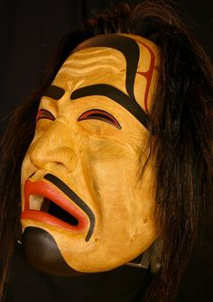 Native American Mask of an owl - Northern Vancouver Island ... - photo#43
