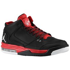 size 40 e2ddd e5be6 Jordan Flight Origin - Men s - Basketball - Shoes - Black White Gym Red