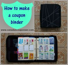 Learn how to make a super easy to use extreme couponing binder by reading my latest article! Get started with this easy to follow guide. Binder Storage, Home Management, Filing System, Extreme Couponing, Coupon Binder, Frugal Living, Super Easy, Saving Money, Coupons