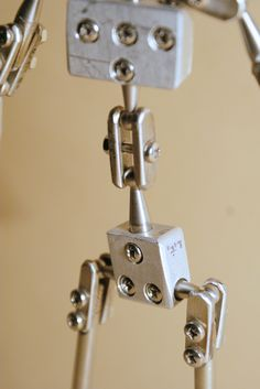 stop motion puppet Armature handmade for Lady No.4 #animation