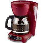 My red Mr. Coffee coffeemaker.