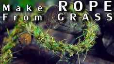 You never know when rope grass will come in handy. Here is how to make this #survival tool. #diy https://youtu.be/DljWyRQFrNc