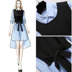 Fashion Drawing Dresses, Fashion Illustration Dresses, Korean Fashion Dress, Fashion Dresses, Fashion Design Drawings, Fashion Sketches, Dress Design Drawing, Modele Hijab, Mode Kpop