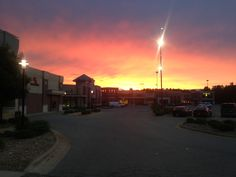 """Allow me to introduce you to my town, Sunset Caledonia """"Pure Michigan"""" evening"""