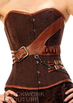 steampunk+clothing | corset #steampunk clothing #steampunk
