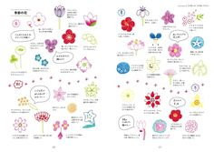 Cute Illustrations with Ball Point Pens. The book introduces many cute illustrations using Ball Point Pens! Bujo Doodles, Pen Doodles, Kawaii Doodles, Flower Doodles, Pen Illustration, Japanese Illustration, Japanese Drawings, Easy Drawings, Stylo Art